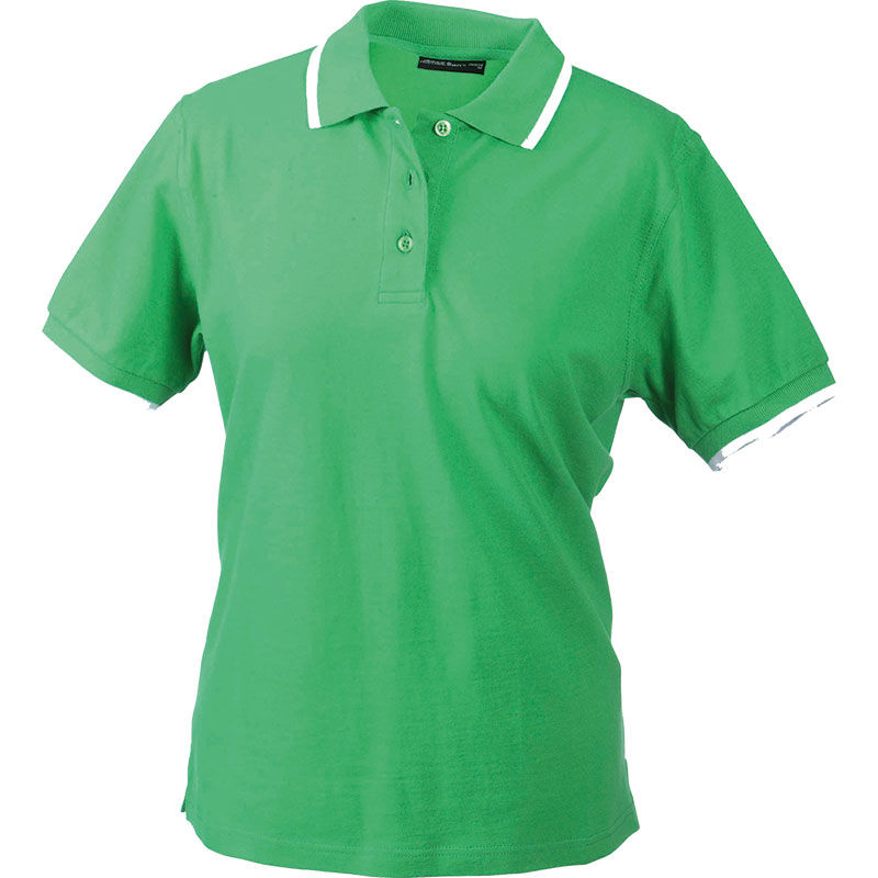 Rugby club sportif T POLO logo brodé couleur complet x10 Tops
