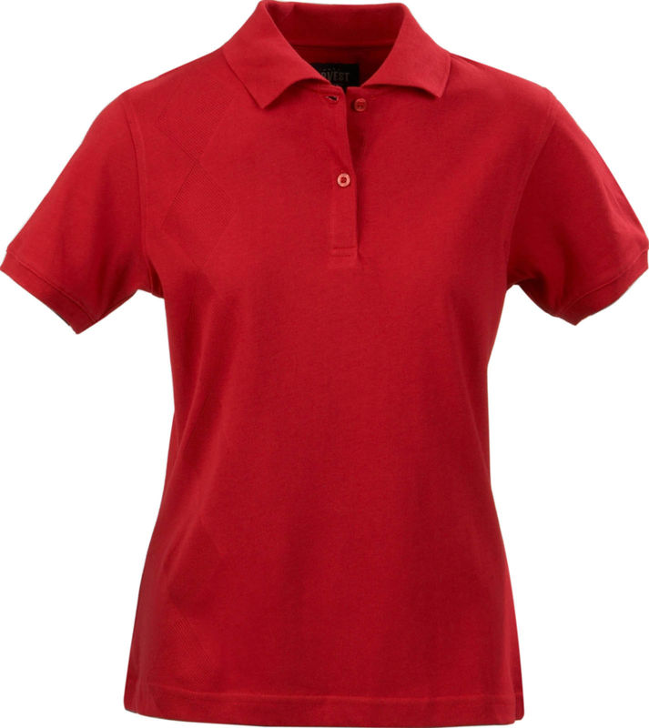 rouge - polo aurore femme