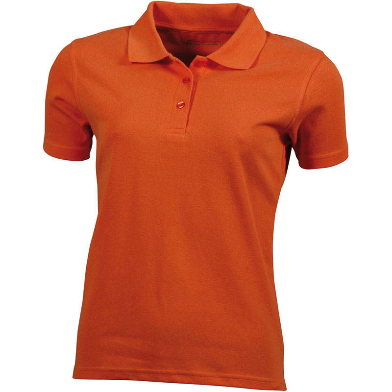 orange - polo femme anti transpirant