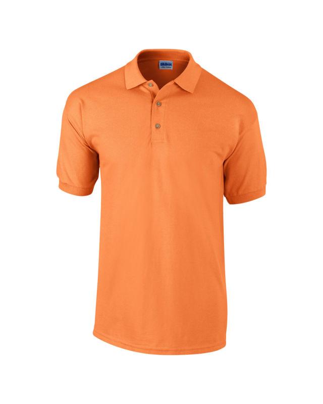 Polos à manches courtes Anvil orange homme XD4c0z7