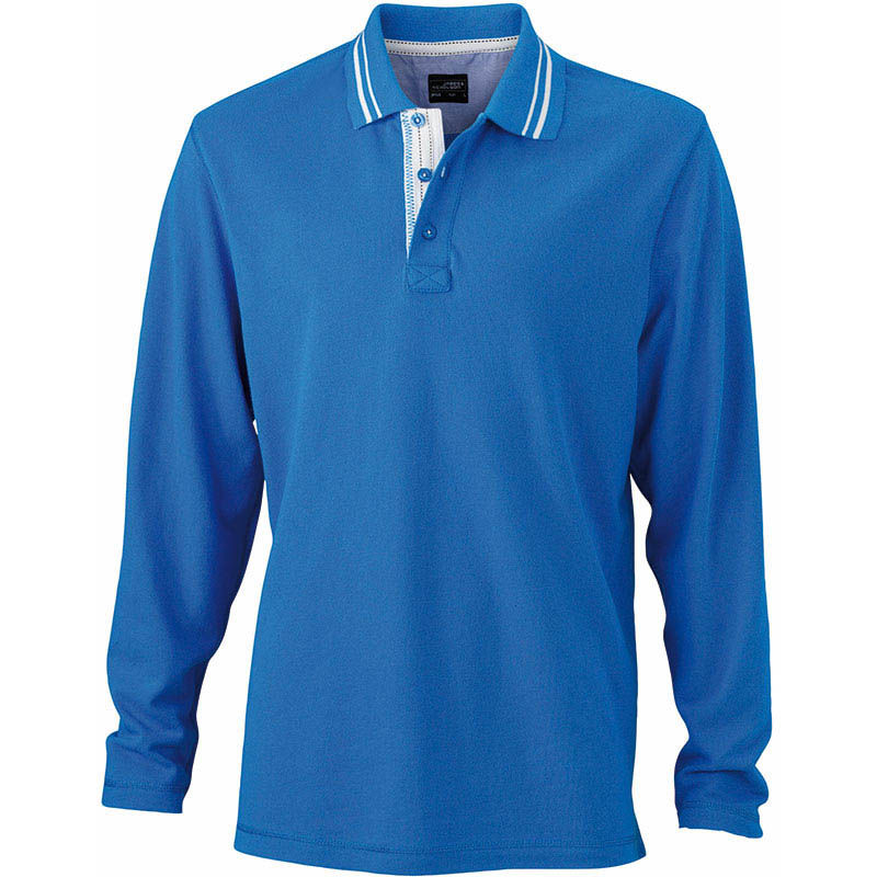 polo long pour homme - polo personnalise