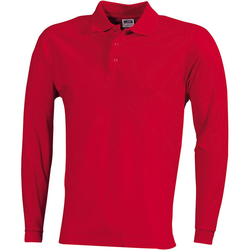 polo manche longue mode homme - polo personnalise