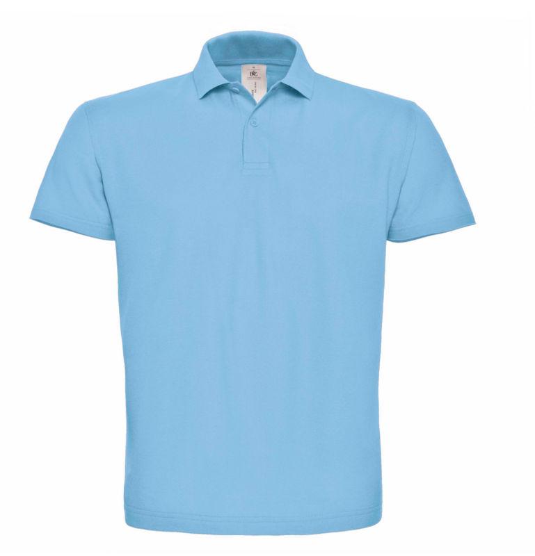 Polo en coton pour homme, bleu marine et vert olive - Bleu - Large