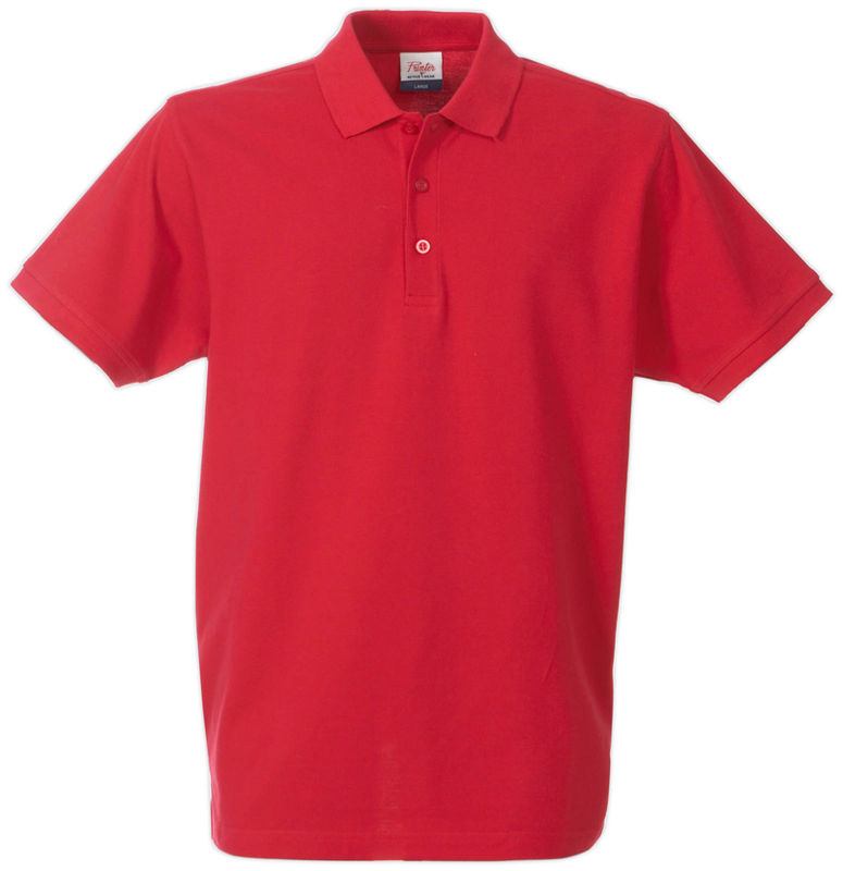 rouge - polo pour homme taille