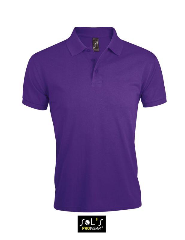 Polos à manches courtes Gildan violets homme a5EHw