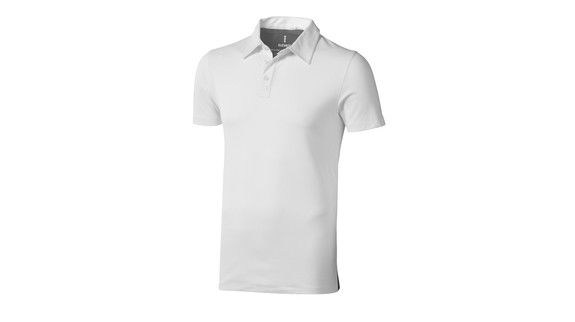 blanc-anthracite - polo propre style