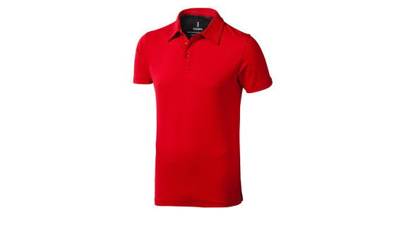 rouge-anthracite - polo propre style