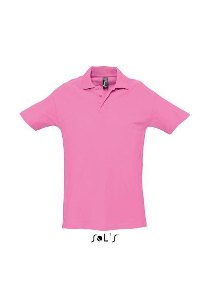 Spring Ii | Polo manches courtes publicitaire pour homme Rose Orchidee