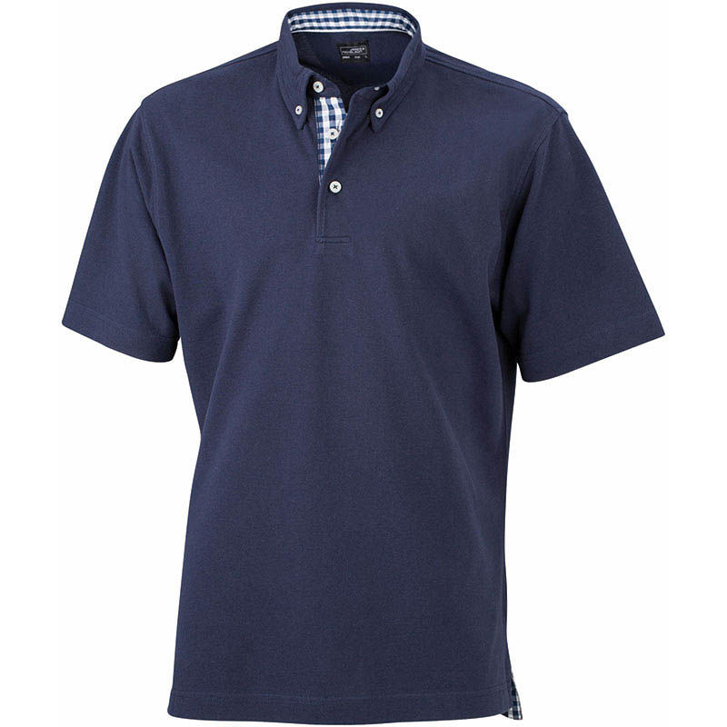 polo vichy homme beau - polo personnalise