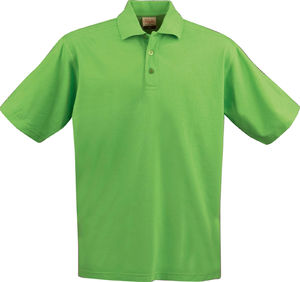 lime - polo 100 pourcent coton