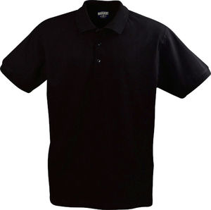 noir - polo stretch confort