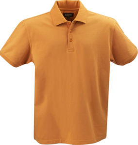 orange - polo stretch confort