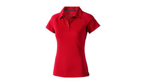 rouge - polo tres tendance